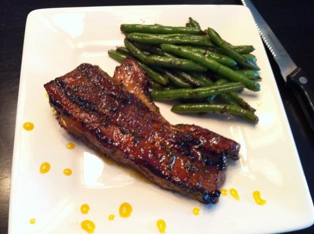 Citrus Glazed Pork Belly
