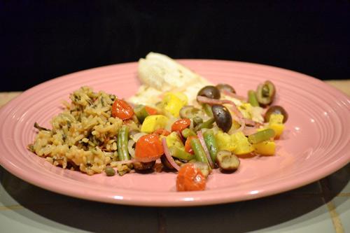 Tilapia & Summer Vegetable Packet