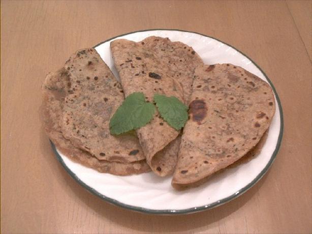 Pudina (Mint) Roti
