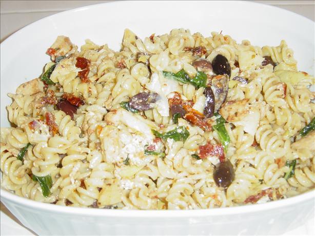 Mediterranean Pasta in Minutes