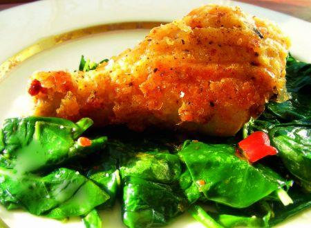 George's Crisp Crusted Oven-Fried Chicken by Judy- Jude