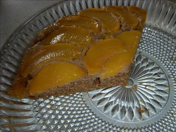 Incredible Peach Upside Down Cake