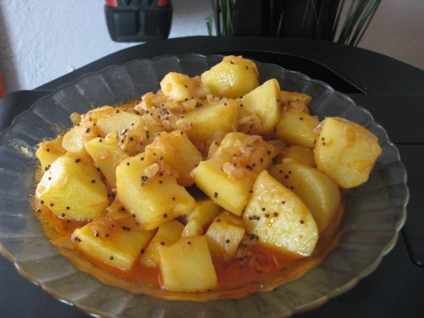 Hot and Sour Potatoes