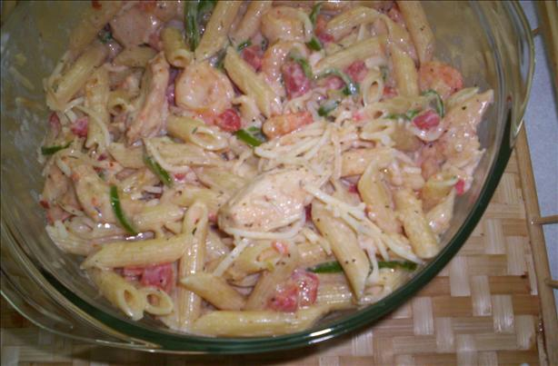 Chicken & Shrimp Primavera