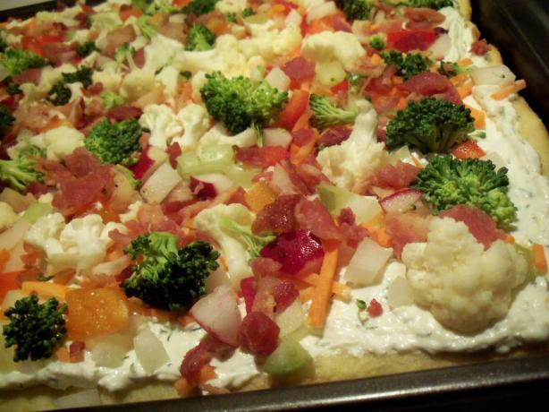 Lisa's Veggie Pizza
