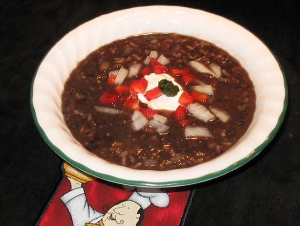 Good Seasons Black Bean and Rice Soup