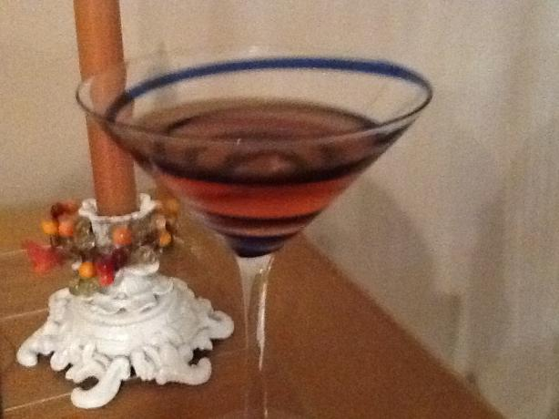 Mike's Candy Apple Martini
