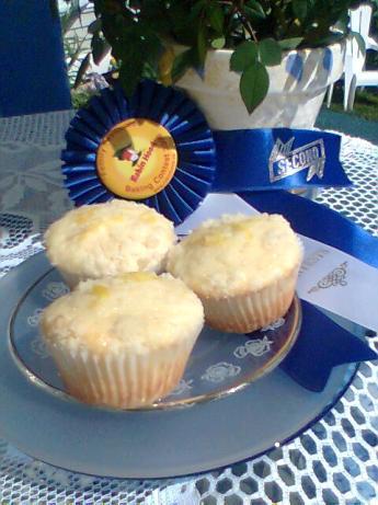 Scarlet's Lemon Crumb Muffins