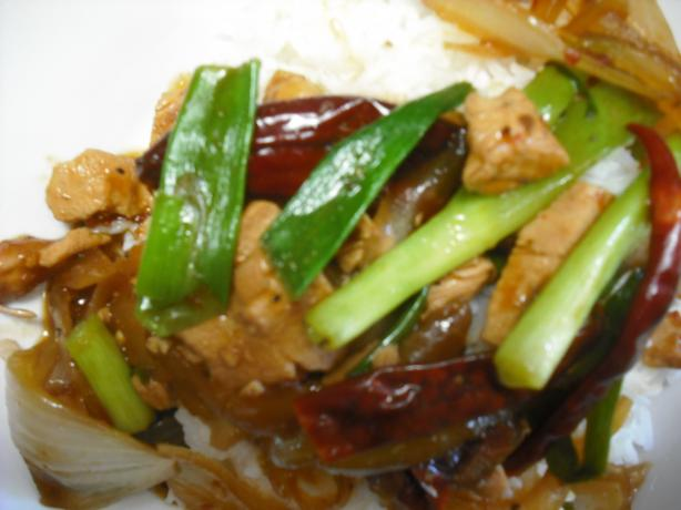 Schezwan or Szechuan Spicy Hot Chicken