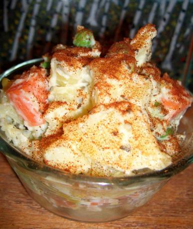 A Really Simple Potato Salad