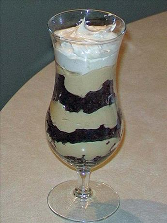 Sweetslady's Chocolate Peanut Butter Brownie Trifle