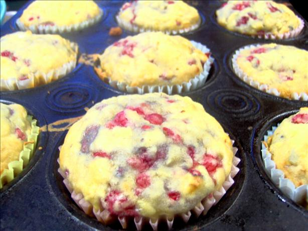 Raspberry Apple Muffins