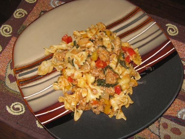 Turkey Sausage & Spinach Orecchiette