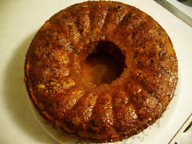 Pumpkin Banana Cake