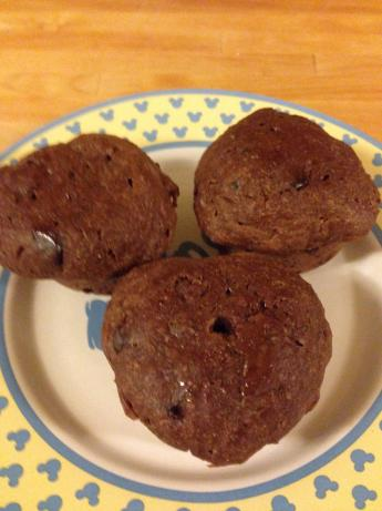 Chocolate Zucchini Muffins (Clean)