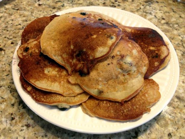 Banana Cornflour Pancakes