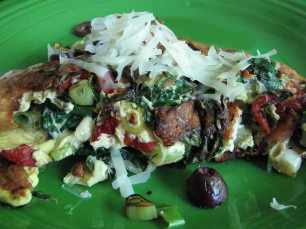 Spinach Ricotta Frittata