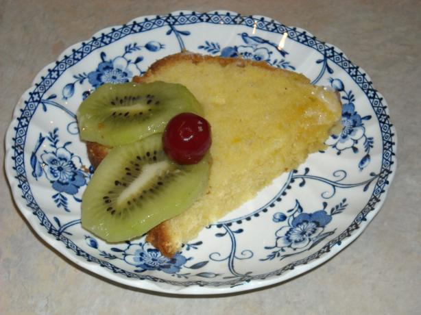 Civil War Pound Cake