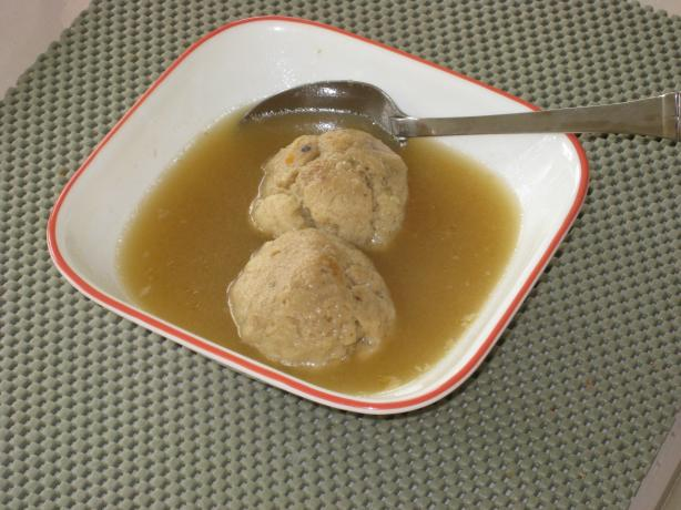 Kittencal's Matzo Ball Soup