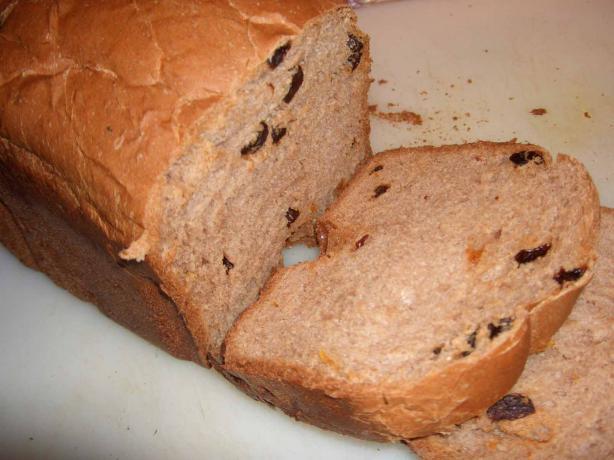 Maple Syrup Spice Bread (Bread Machine)