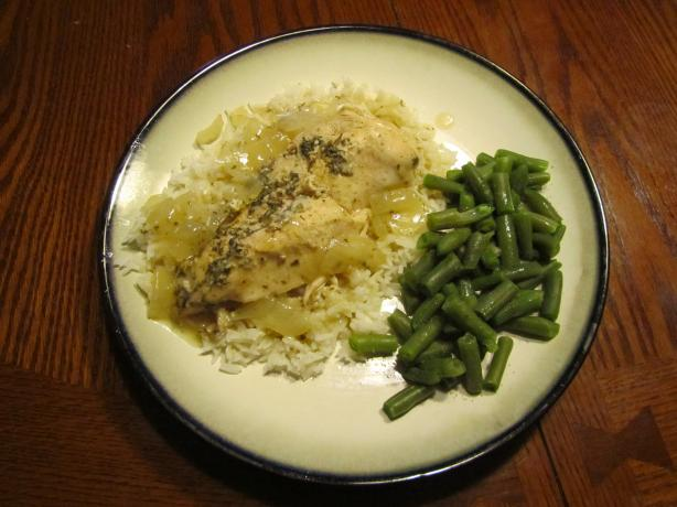 Crock Pot Lemon Garlic Chicken