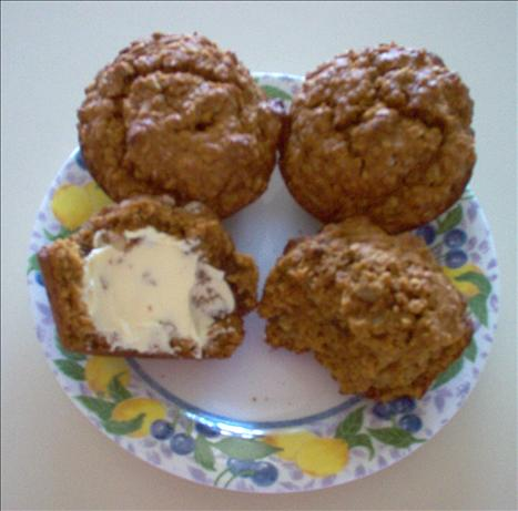 Monster Molasses Muffins