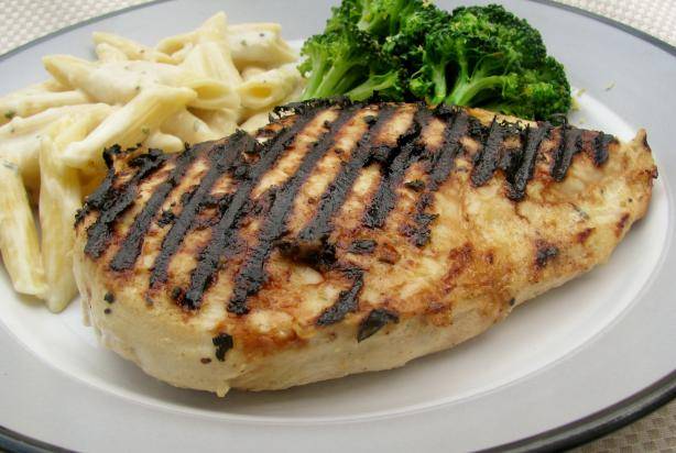 Grilled Chicken Dijon