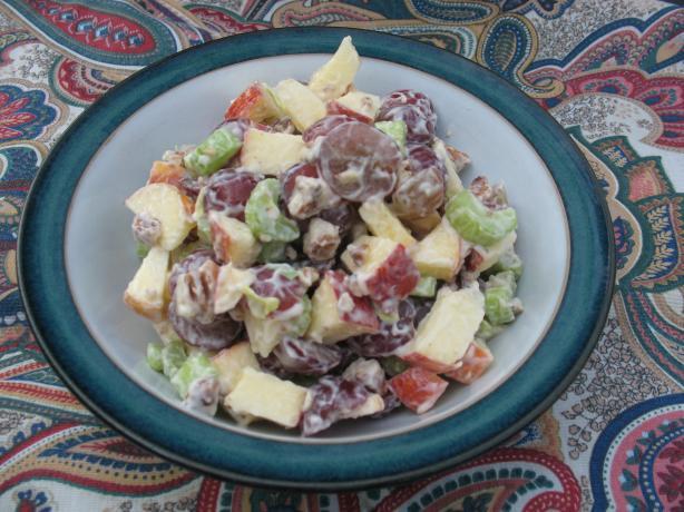 Auntie M's Apple & Grape Salad