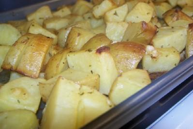 Roasted Honey Dijon Potatoes