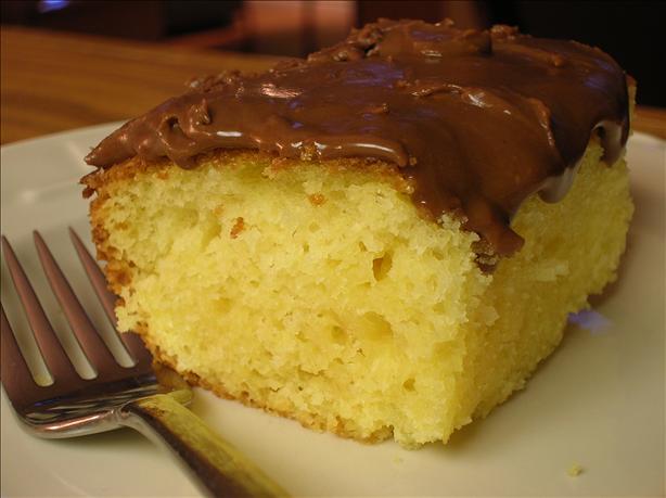 Sour Cream Yellow Cake