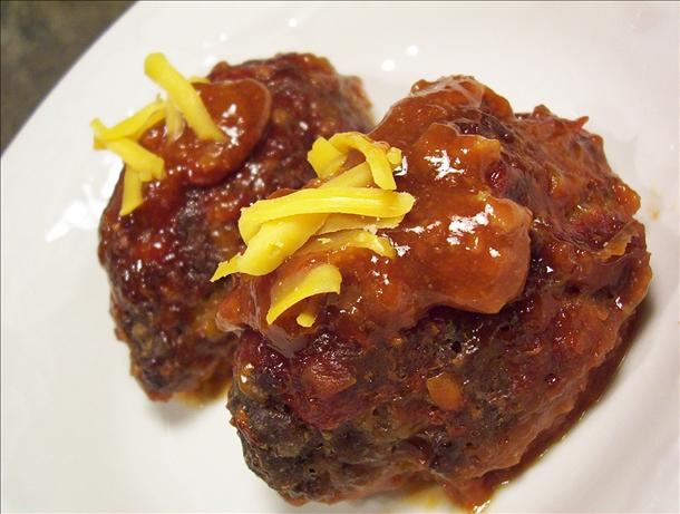 Lil' Cheddar Meatloaves