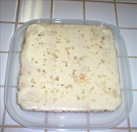 Maple Walnut Cream Squares