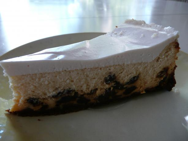 Rum-Raisin Cheesecake