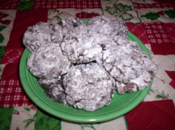Quick Chocolate Crinkles