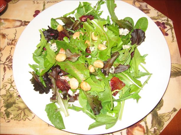 Spinach, Blood Orange and Macadamia Nut Salad