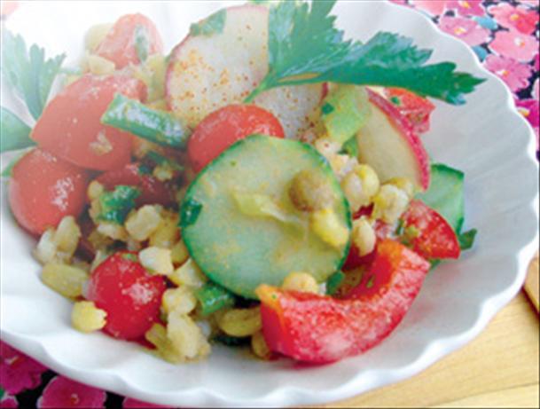 Tomato Rice Salad