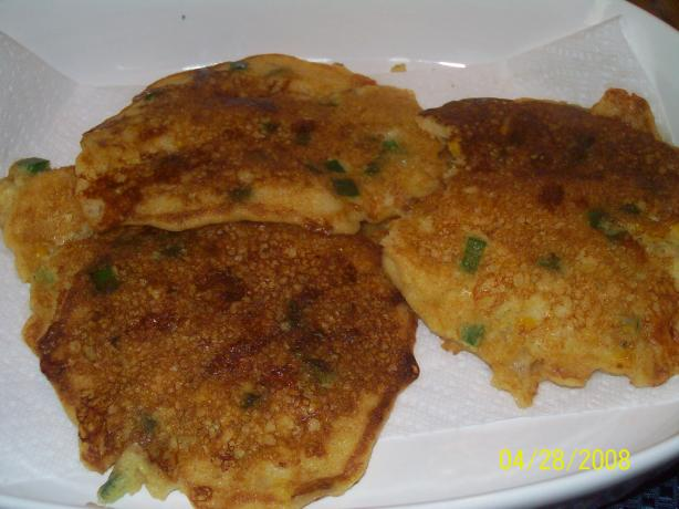Monterey Jack Corn Fritters
