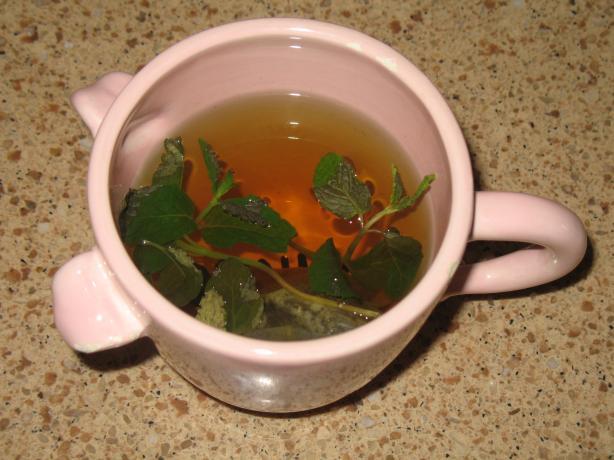 Bonnie's Mint Green Tea