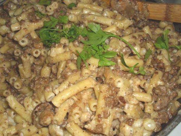 Moussaka Pasta Toss