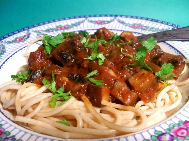 Portabella Mushroom Pasta Toss