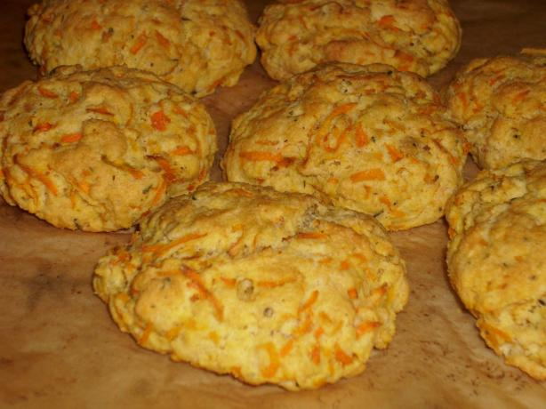 Carrot and Herb Dinner Biscuits