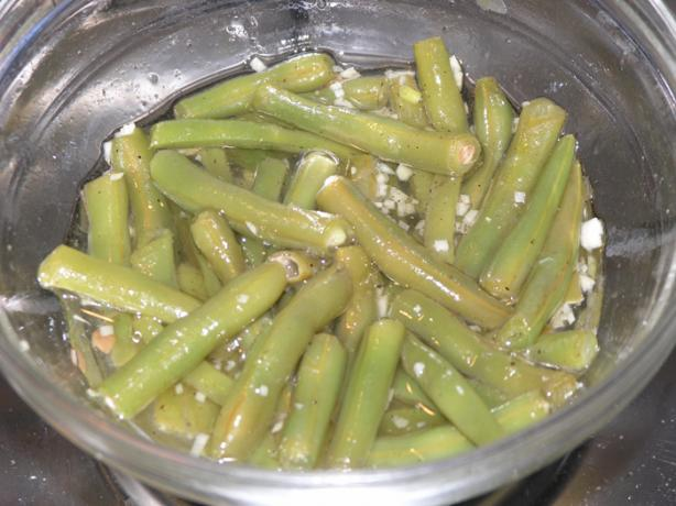 Croatian Simple French Beans Salad