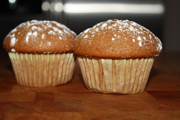 Gingerbread Mini Muffins
