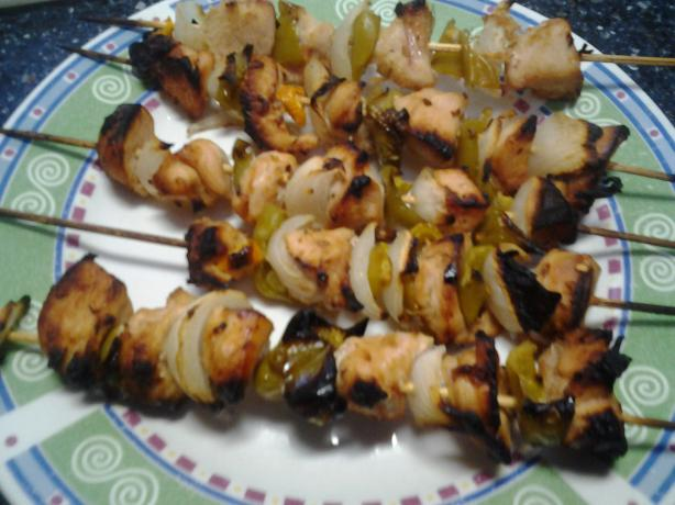 Key West Spicy Chicken Kebabs