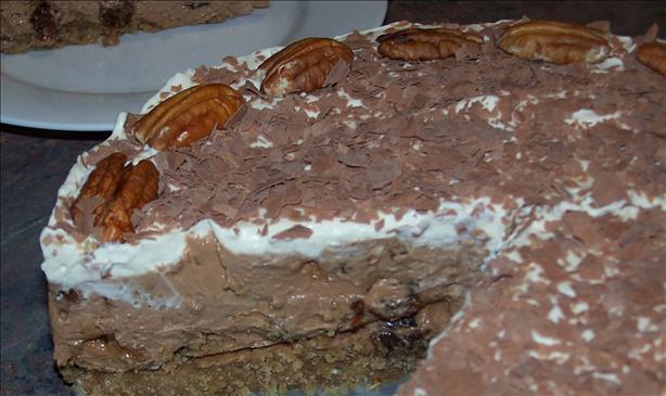 Indulgent Raisin and Kahlua Cheesecake