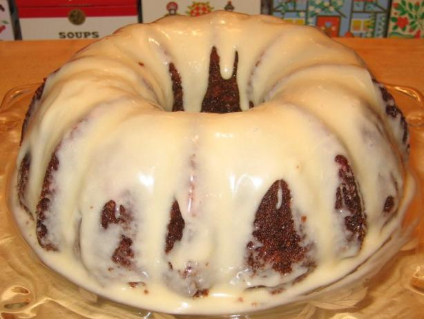 Carrot Bundt Cake With Glaze