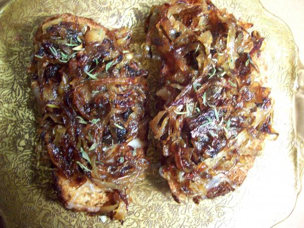 French Onion Crostini