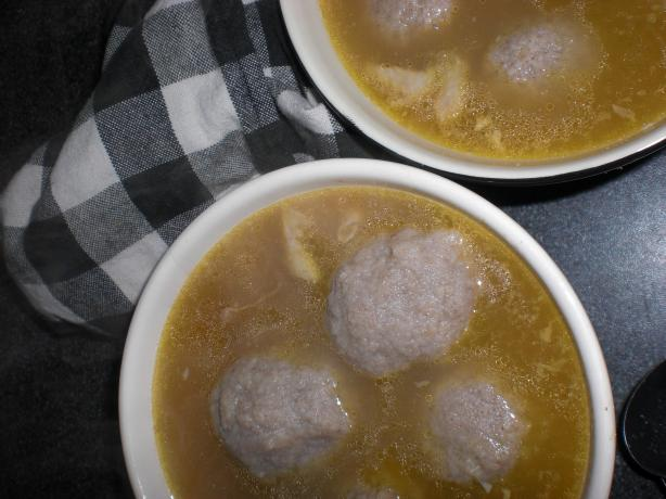 Matzo Ball Chicken Soup (Kosher)