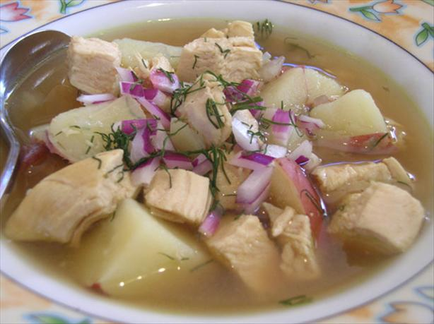 Scandinavian Chicken Soup