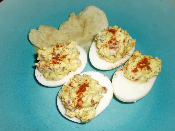 Wick's Easter Deviled Eggs